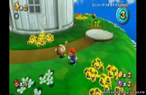Японская видеодемонстрация игры Super Mario Galaxy 2